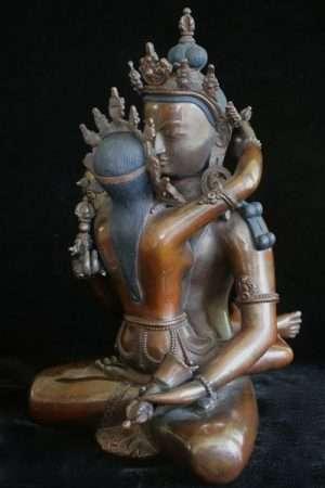 Vajrasattva yab-yum RVAJS17