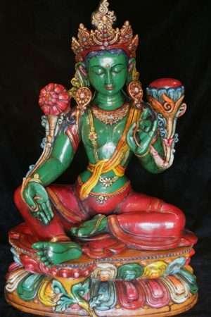 Green Tara CLAY100