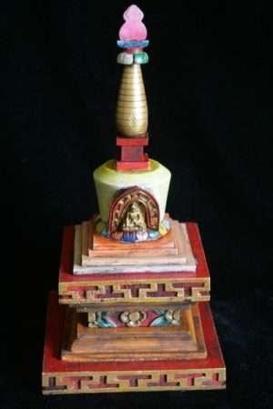 Wooden stupa WSTUPA1